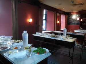 Appetizers at Mario Bitali's Otto