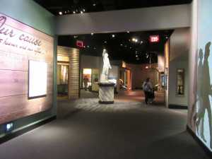 Another gallery at the American Revolution Museum.