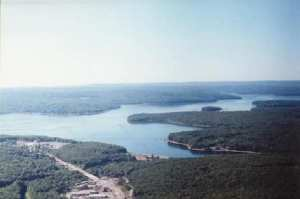 Lake Wallenpaupack in the Wild Delaware River area