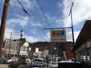Hawley Diner Hawley PA Near the Northeastern Pennsylvania's Crystal Cabin
