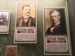 Rev. Sam Jones and Captain Tom Ryman