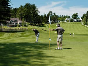 Lake Sunapee Country Club . Ideal for family golfing.