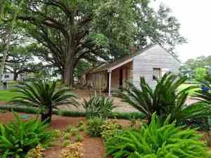 Slave quarters.