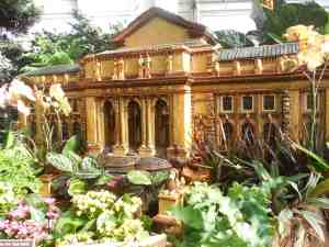 New York botanical Garden's replica of the Public Library