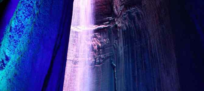 Visiting Ruby Falls: A Million Steps in March