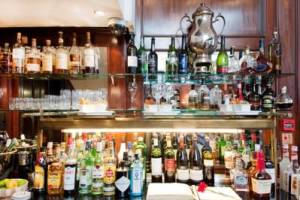 Just a sample of a Red Carnation Hotels well stocked bar.