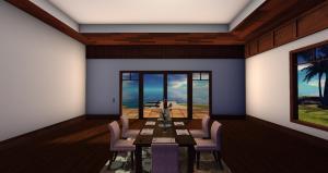 Anini Mesh Hawaiian House - Dining Room or second bedroom