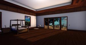 Anini Mesh Hawaiian house, Master Bedroom