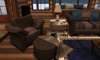 The Adirondack Living Room Set  Partial Mesh | Galland Homes