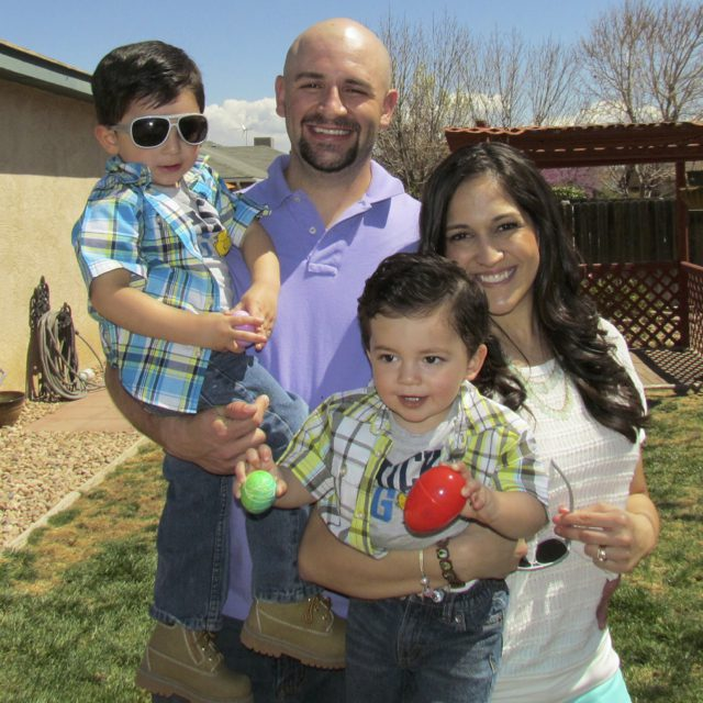 Dr. Gallegos with his family