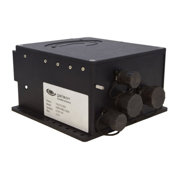 XSR 10GbE Recorder rugged Galleon Embedded Computing