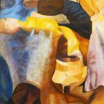 Tang m.m. Maleri. str. 80 x 100