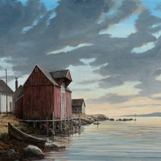 Kväll, Nordnorge