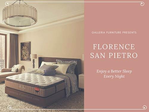 Harga Spring Bed Florence San Pietro