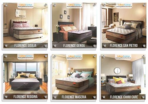 Katalog Harga Spring Bed Florence