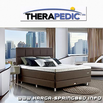 kasur spring bed Therapedic Lively