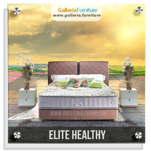 Spring Bed Elite Healthy - Gambar dan Harga