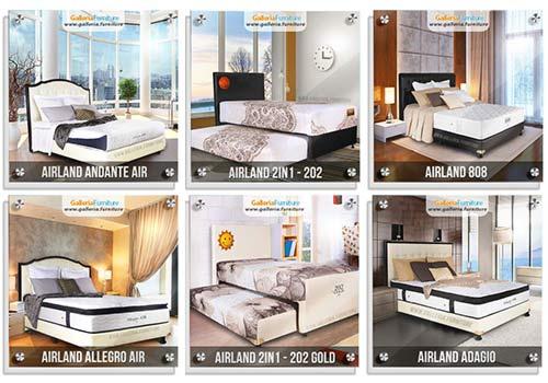 Katalog Harga Kasur Spring Bed Airland