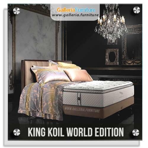 Harga Springbed King Koil World Edition