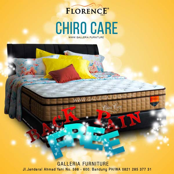 Harga Springbed Florence Chiro Care
