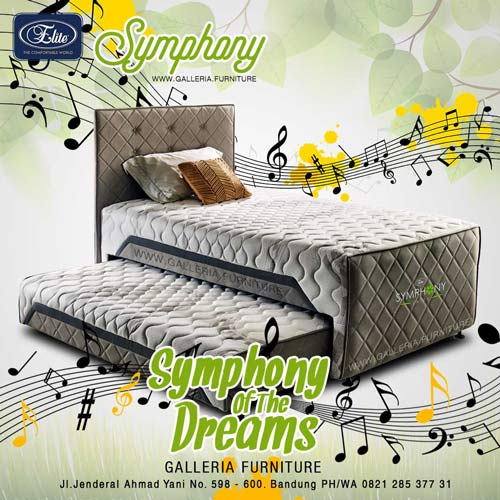 Harga Spring Bed Elite Symphony 2in1