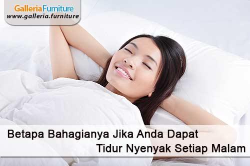 Tidur Nyenyak Setiap Hari