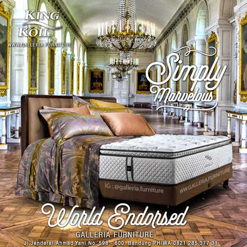 Harga-Springbed-King-Koil-World-Endorsed
