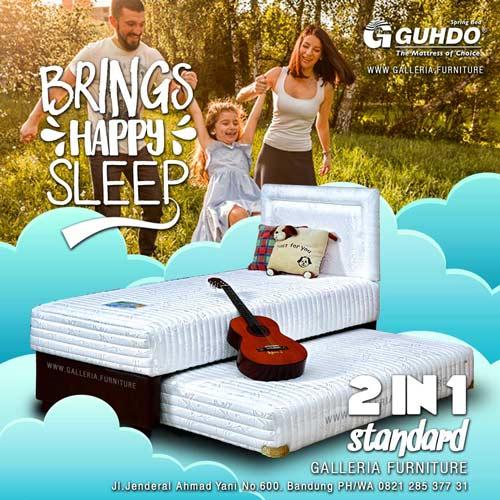 Springbed-Sorong-2in1-Guhdo-Murah