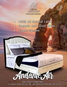 Kasur Latex Bagus Airland Andante Air