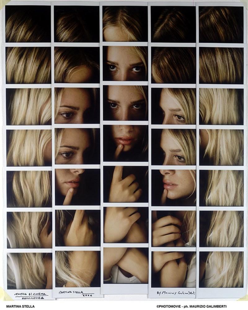 Maurizio Galimberti, STELLA MARTINA mosaico polaroid
