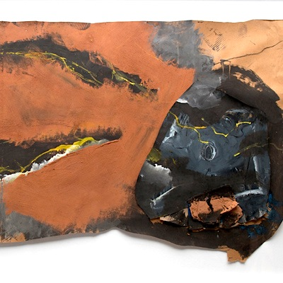 Nanni Valentini, Il passaggio dell'angelo, 1985, cm 194x132,5