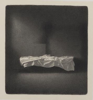 Gianfranco Ferroni, litografia, 1970