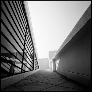 Matteo Cirenei, Ville Savoye, Poissy, 1995, cm 100x100