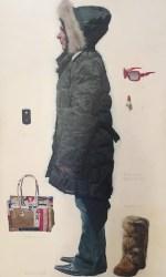 Nannini, 180×100 cm, olio su tela