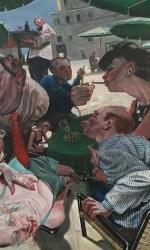 Robusti, Il trionfo dei gobbi, 100×120, olio su tela
