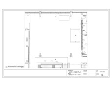Version Four and Six Footprint in Possible Temporary Relocation Area, Level 2 Floorplan, Sheridan HMC B-Wing