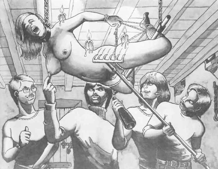 Sick sex drawings