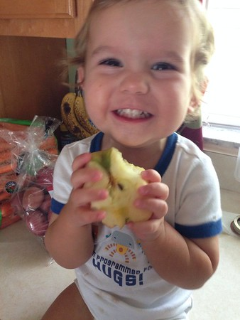 Charlie and his apple