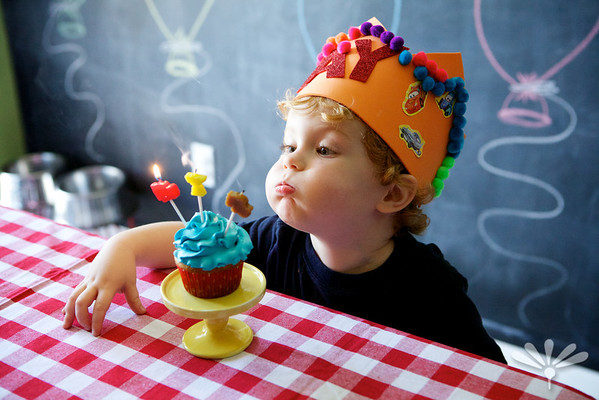 Jay's third birthday