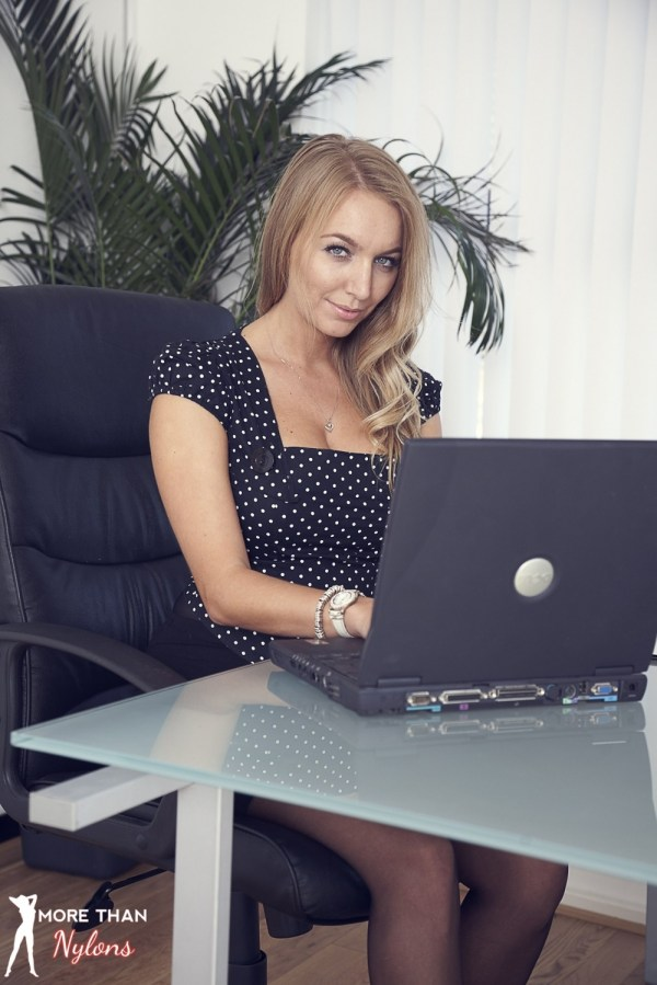 Nylons Galleries Perfect Personal Assistant