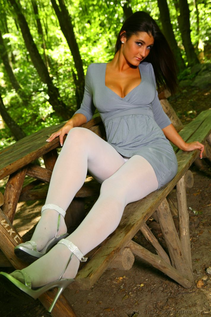 I need some shiny ones!! | White pantyhose, Tights, Cool