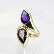 Garnet Amethyst Ring, Bvlgari