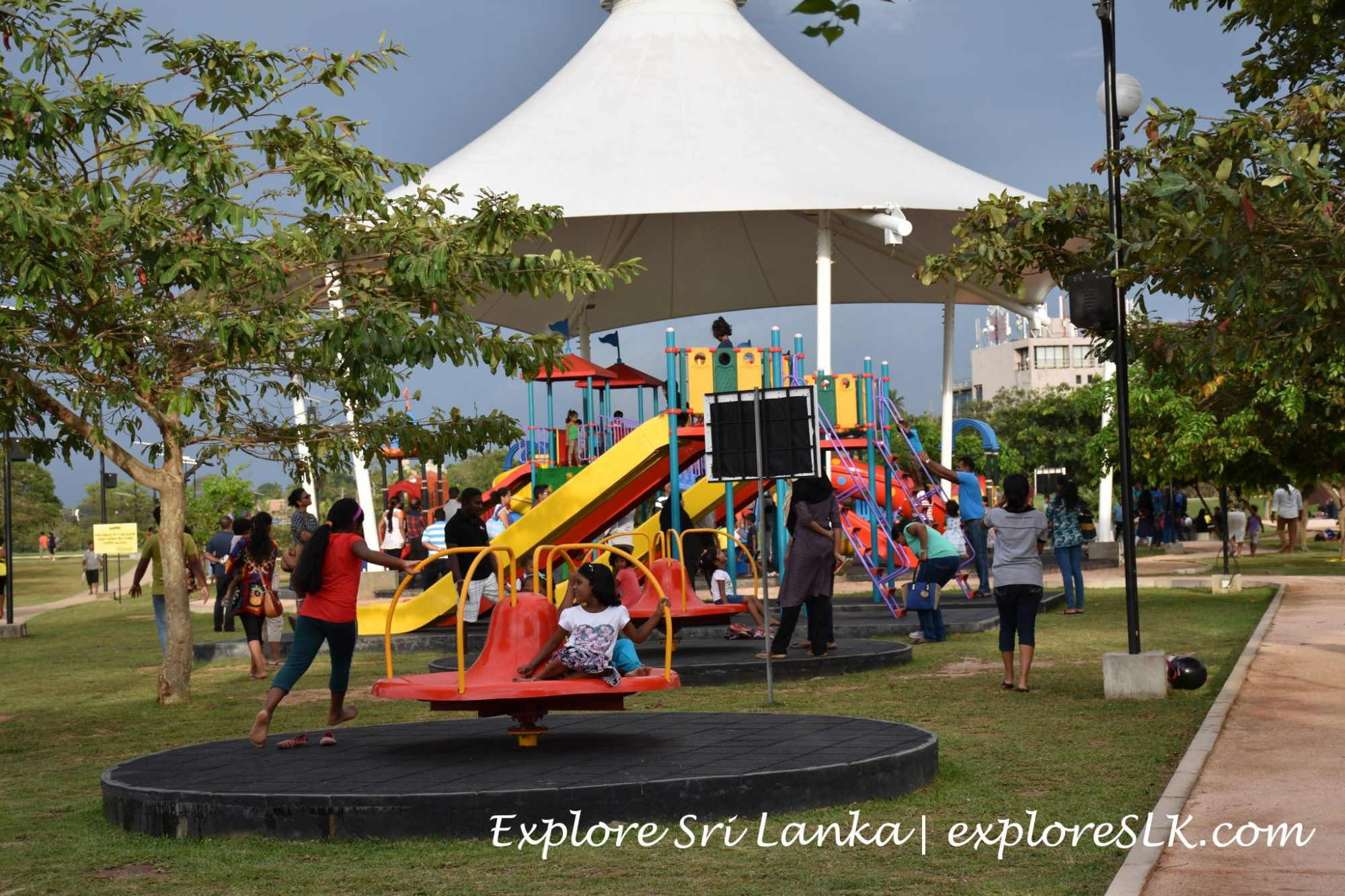 Children's park at Diyatha Uyana