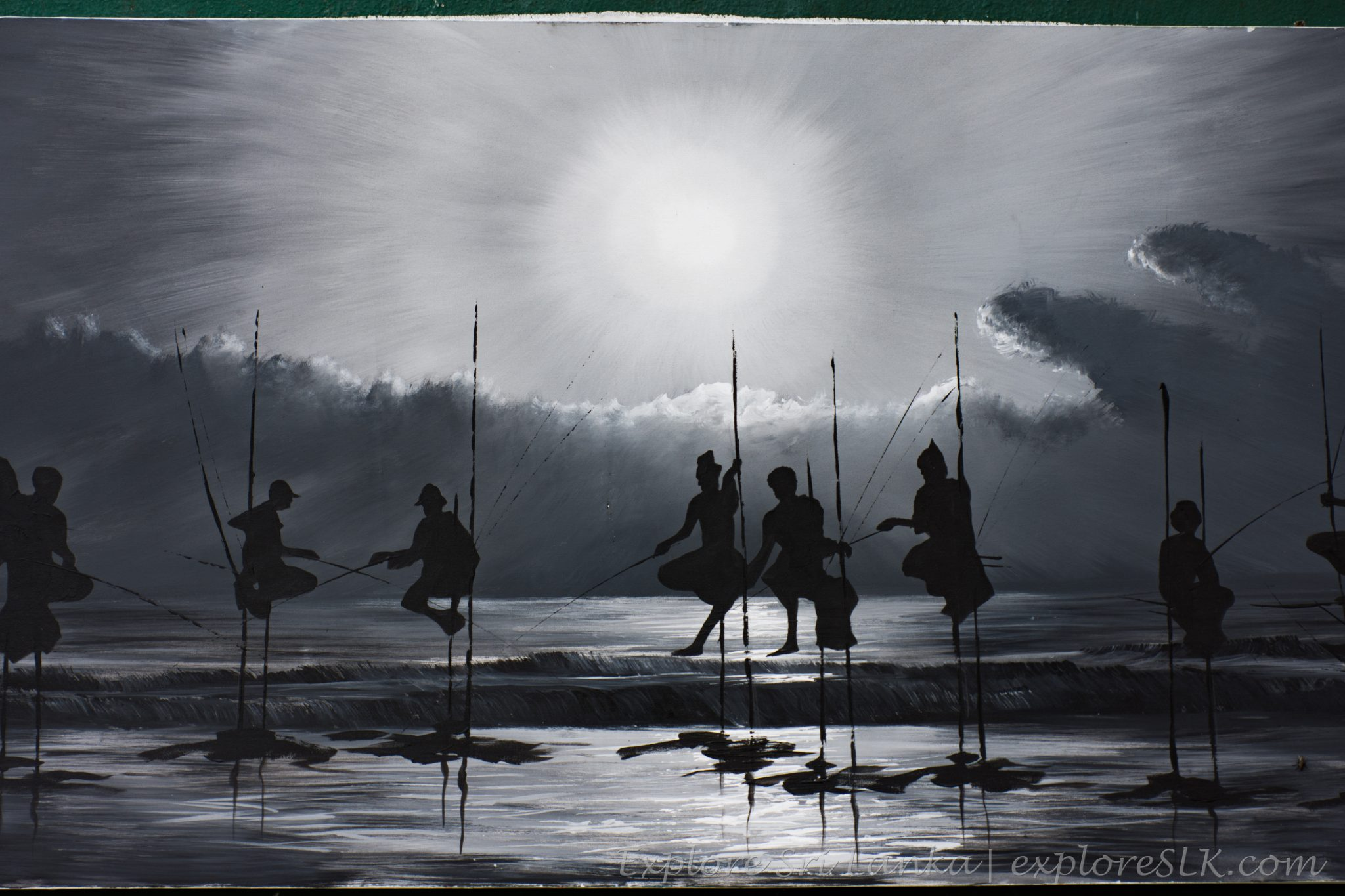 Sri Lankan Oil Paintings