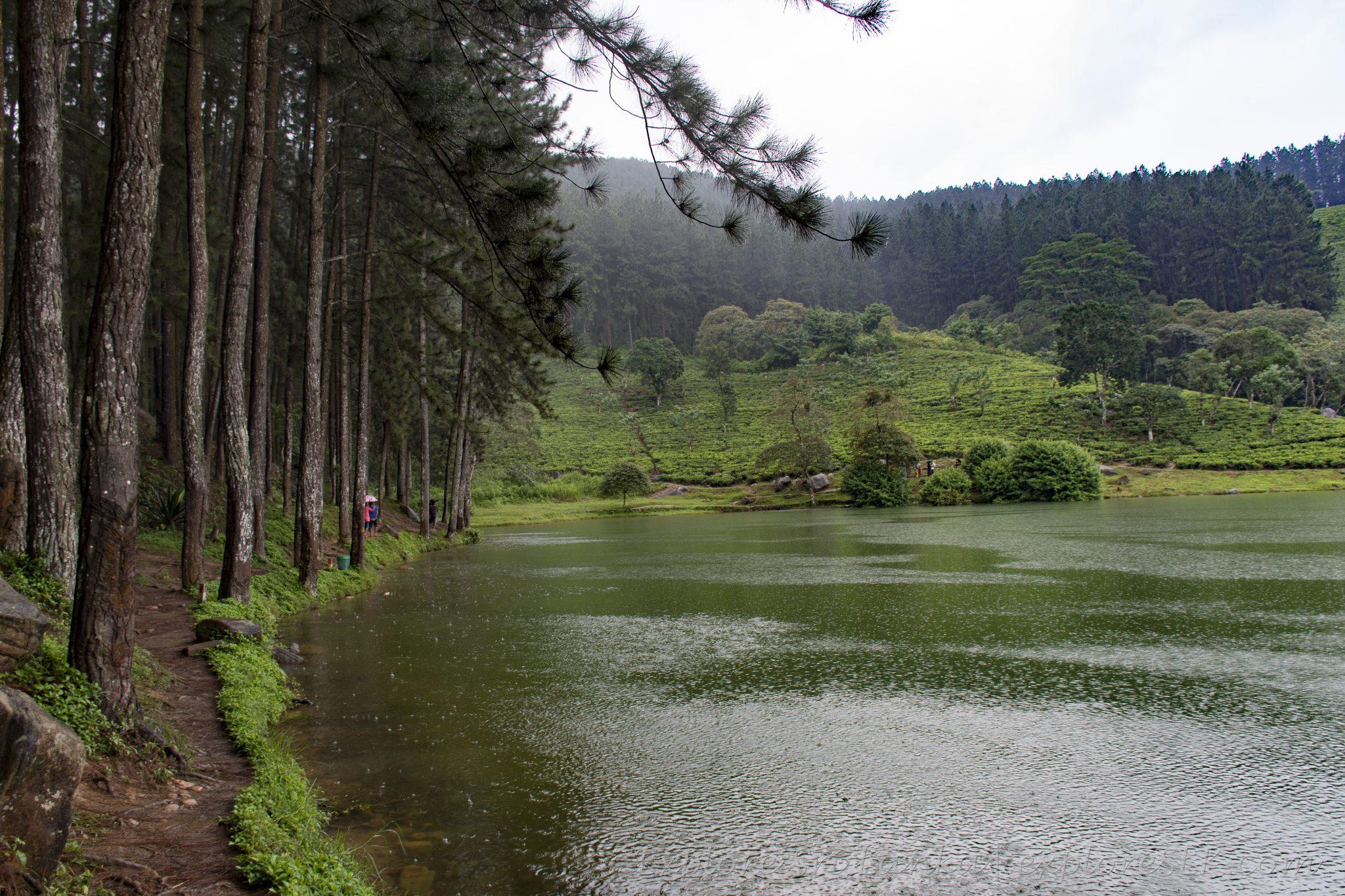 Footpaths at Sembuwatta Lake