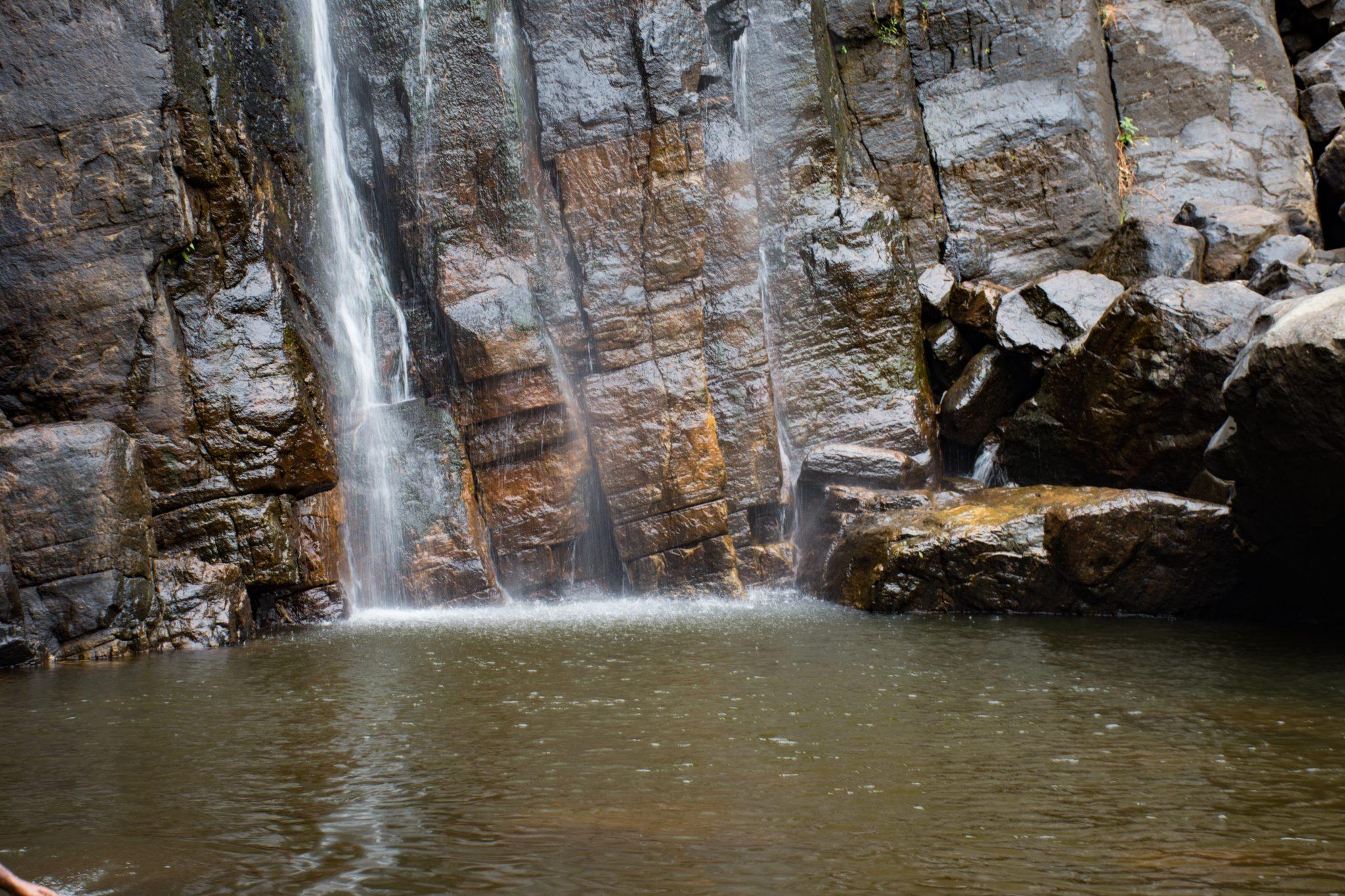 Pool below the waterfall