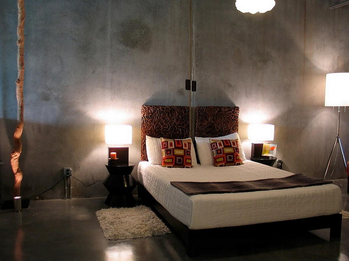 31 Creative Concrete Walls for Bedroom  Ultimate Home Idea