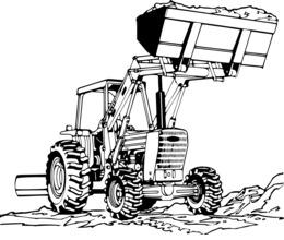 Farm, Car, Transport, Cartoon, Font, Product, Drawing