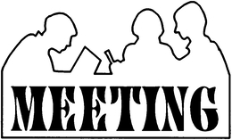 meeting clip art black and white clipart Meeting Clip art @kissclipart