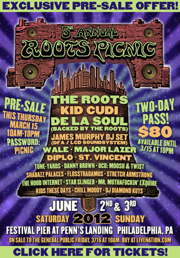 The Roots Picnic flyer